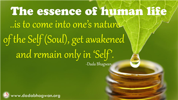 Essence of human life